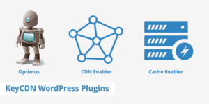 cdn enabler cache enabler and optimus wordpress plugins keycdn