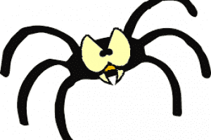 how to get your pages indexed by google cartoon spider